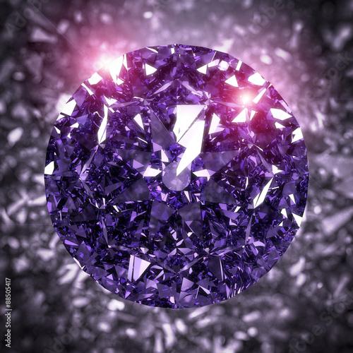 3-d-render-z-blyszczacego-diamentu