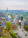 Fototapety View over eupen, belgium.