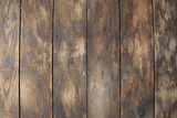 Fototapety Distressed Vertical Wood Plank Floor Boards Background
