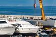 Barche in riparazione