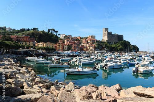 In de dag Liguria Lerici