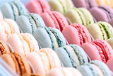 Fototapety Colorful Macarons