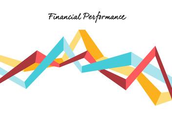 Grafico andamento finanziario