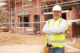 Portrait Of Construction Worker On Building Site