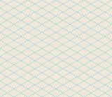 Vector Isometric Seamless Retro Background