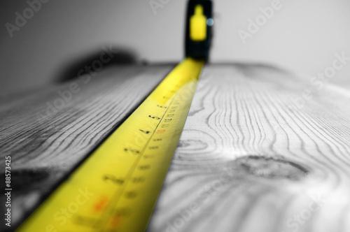 Poster Tape measure wood