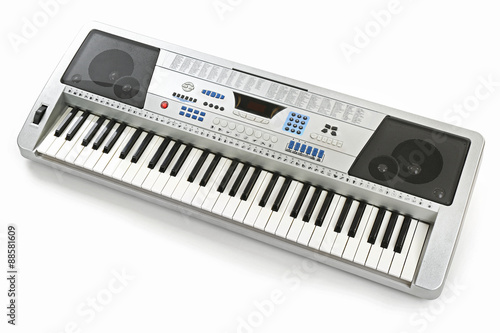 Synthesizer isolated on white © Africa Studio