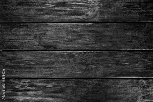 Poster Black wood background