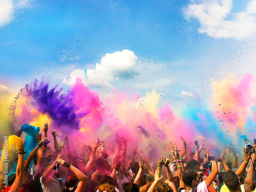 Holi Festival Farben Photo by andessa