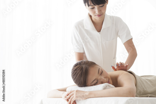 poster of Esthetician that back massage
