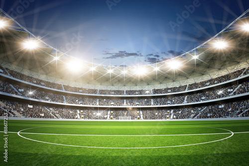 Stadion 3 Mittellinie neutral