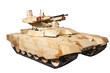 Постер, плакат: Isolated Tank Support Fight Vehicle Terminator 2