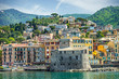Landscape Rapallo Liguria Italy