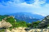 Seoraksan National Park, The best of Mountain in South Korea. poster