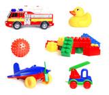 коллекция игрушек