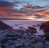 Basaltlsäulen Irland Küste