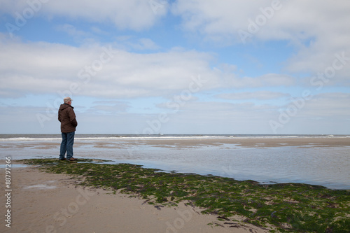 Foto op Canvas Noordzee Deutschland, Niedersachsen, Ostfriesland, Ostfriesiche Insel, Wa