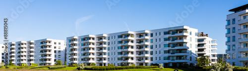 Foto Murales Modern residential building