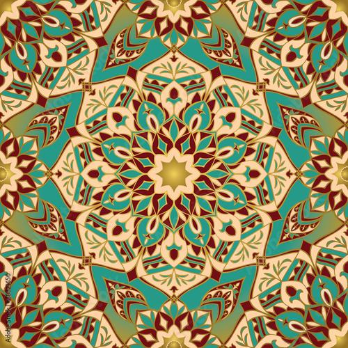 Staande foto Kunstmatig African stylized pattern.