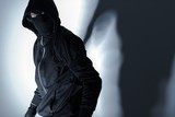 Robber in Black Mask - 88829872