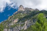 Wonderful scenario of italian alps poster