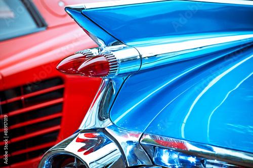 US-Car Cadillac Eldorado Biarritz Heckflosse Poster