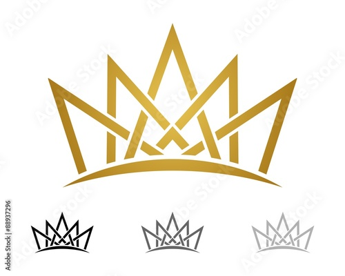 gold crown logo template v 3 buy photos ap images detailview
