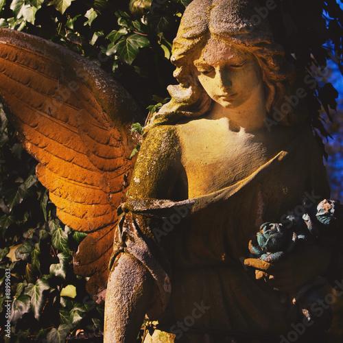 Foto op Plexiglas Bedehuis angel