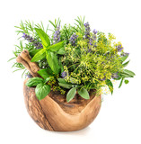 Herbs and spices dill, rosemary, basil, mint, sage, lavender. He - 88960280