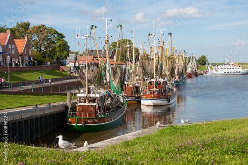 Plexiglas Noordzee Greetsiel Hafen