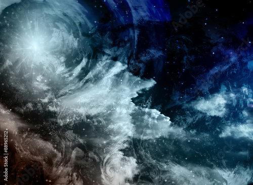 Deep Space Painting - 88965212