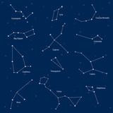 Constellations: cassiopeia, big dipper, cepheus, lyra, grus, cyg