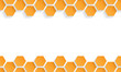 Abstract  seamless texture with honeycombs