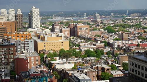 Poster Chicago Aerial view of Philadelphia