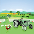Farmland und Natur