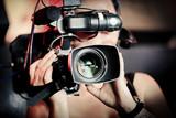 caméra film audiovisuel cameraman lentille objectif