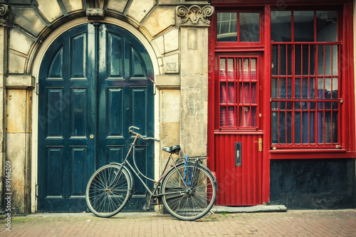 Plakát, Obraz Jízdních kol v Amsterdamu