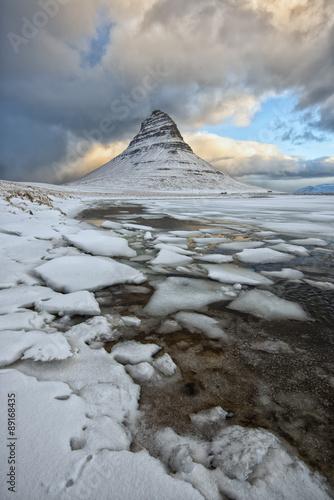 Poster kirkjufell islanda