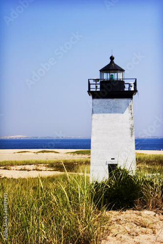 Lighthouse on the Coast of Cape Cod - 89177671