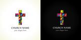 Fototapety Church cross  color