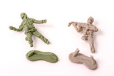 Broken Plastic Toy Soldiers   Wall Sticker