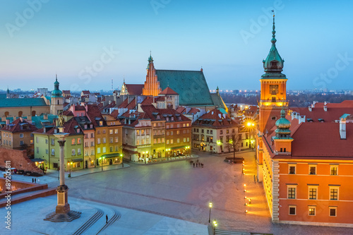 Fototapety, obrazy : Warsaw Royal Castle Poland