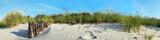 Strand Dünen Panorama
