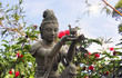 Buddhist statue at Po Lin Monastery - Lantau Island.