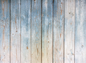 Blue Vintage wooden background