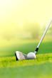 Detaily fotografie lets golf