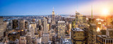 Fototapeta Nowy York - Manhattan New York Skyline Panorama © eyetronic