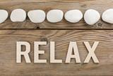 Pannello sassi relax