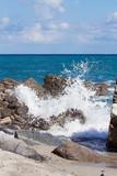 Cielo, mare e scogli a Punta Safò, Calabria poster