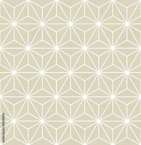 Seamless Vector Geometric Pattern Texture - 89300094
